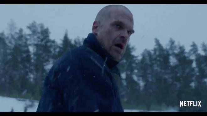 David Harbour returns as David Harbour in Stranger Things season 4 trailer
