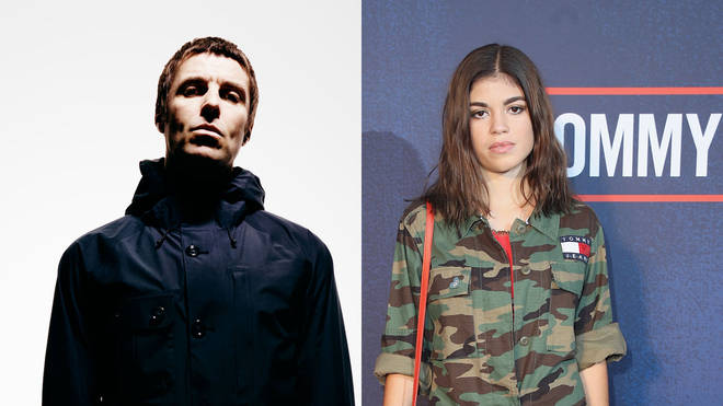 Liam Gallagher and his daughter Molly Moorish
