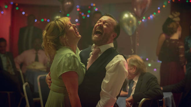 Ricky Gervais and Kerry Godliman star in Netflix's After Life season 2