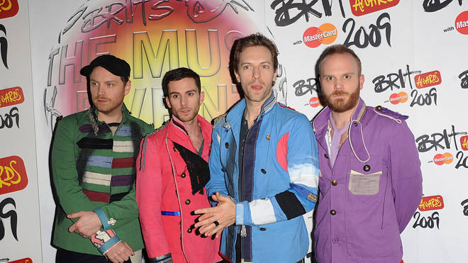 Coldplay at the BRIT Awards 2009