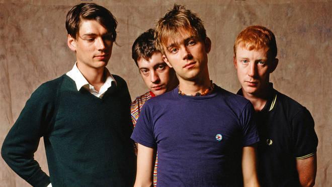 Blur in November 1994
