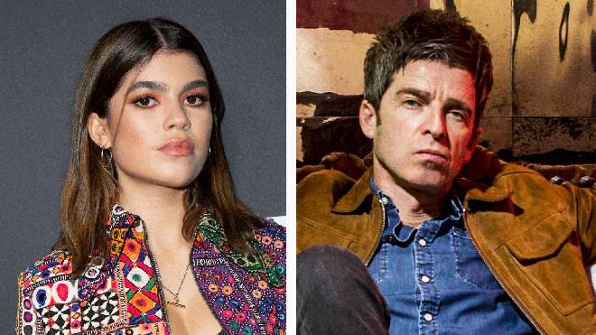 Molly Moorish and former Oasis rocker Noel Gallagher