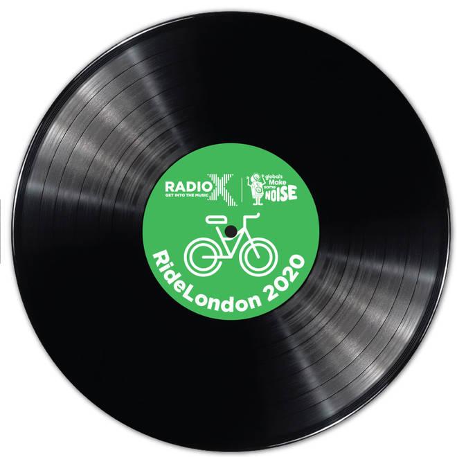 Radio X RideLondon special edition vinyl record