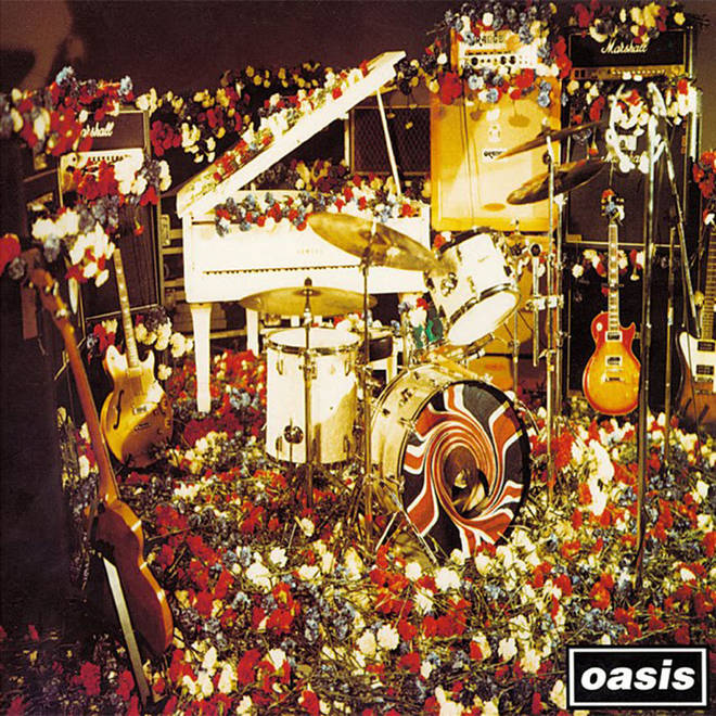 Oasis' Don't Look Back In Anger single artwork