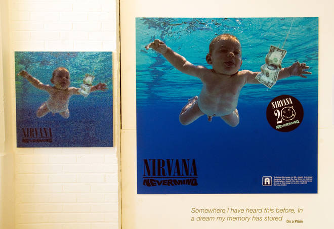 Nirvana artefacts and exhibits are seen at the opening of 'In Bloom: The Nirvana Exhibition', marking the 20th Anniversary of the release of Nirvana's Nevermind album, at the Loading Bay Gallery on September 13, 2011