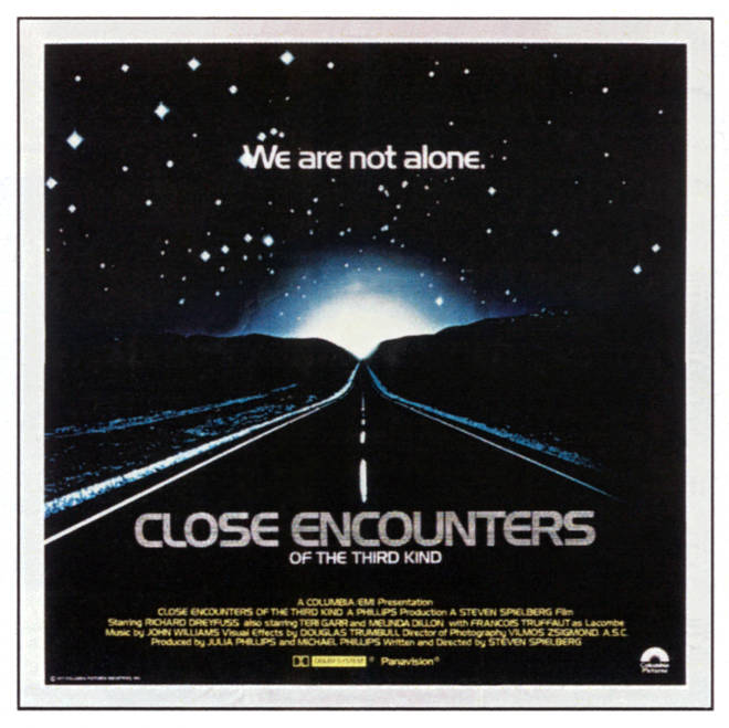 Close Encounters Of The Third Kind, poster, 1977