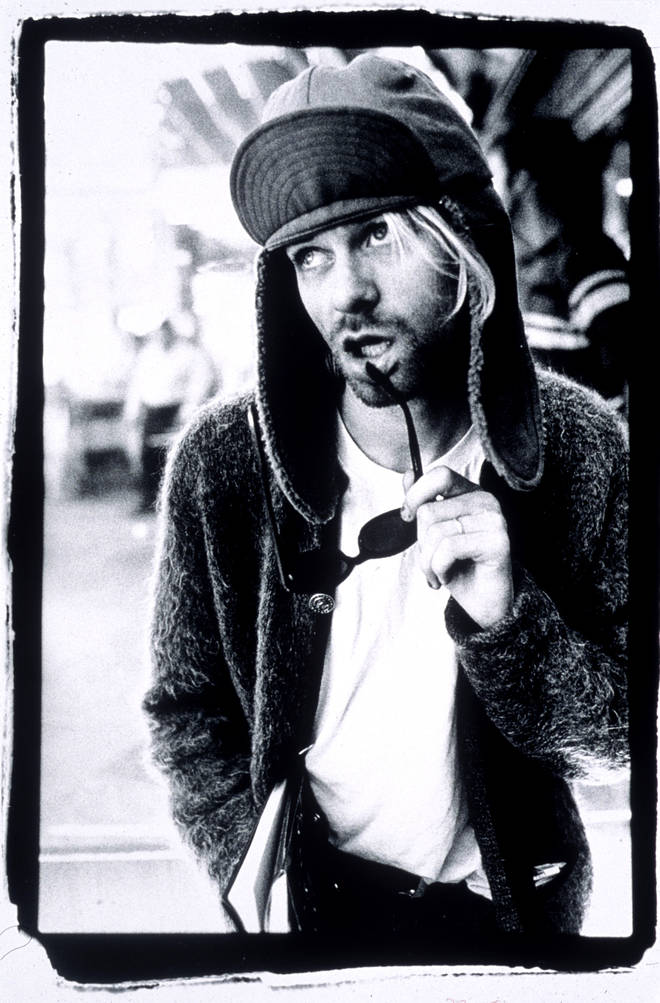 Kurt Cobain in 1993