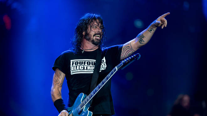 Foo Fighters' Dave Grohl at Rock In Rio 2019