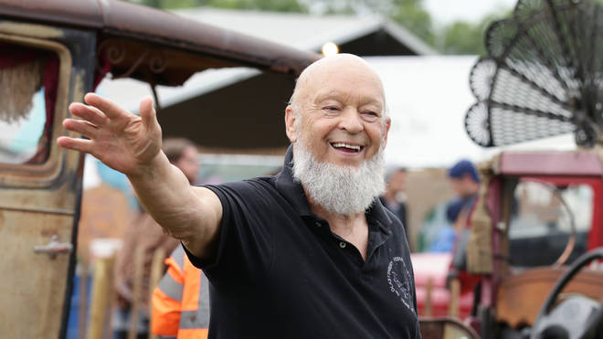 Michael Eavis at Glastonbury Festival 2015