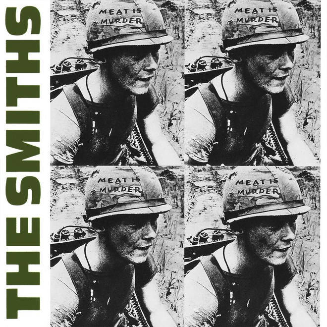 The Smiths - Meat Is Murder album cover