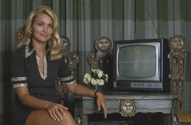 Alexandra Bastedo in 1970