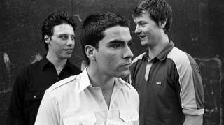 Stereophonics in their hometown of Cwmaman, 1997: Stuart Cable, Kelly Jones & Richard Jones