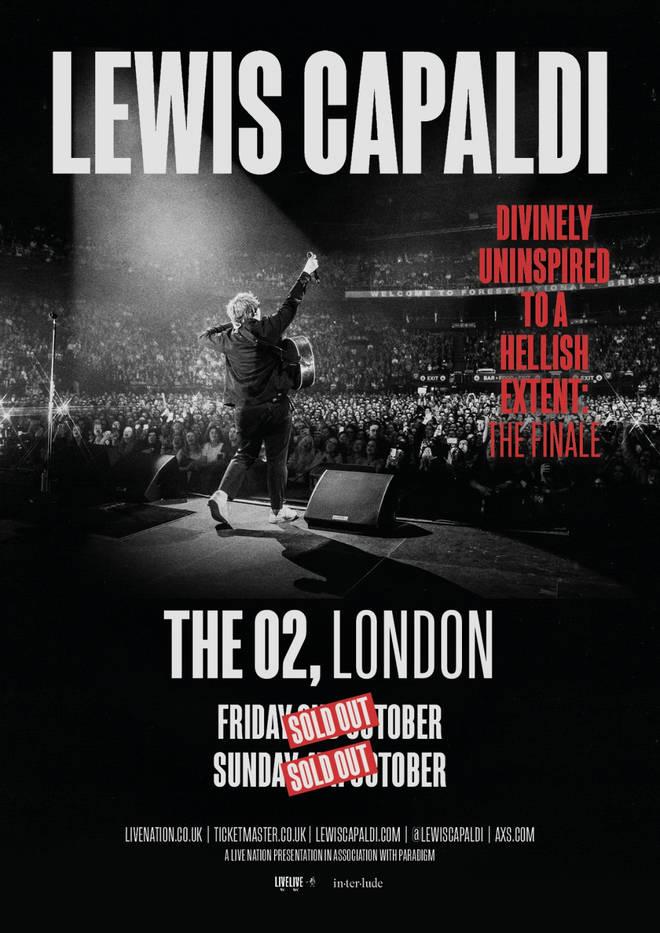 Lewis Capaldi tour poster