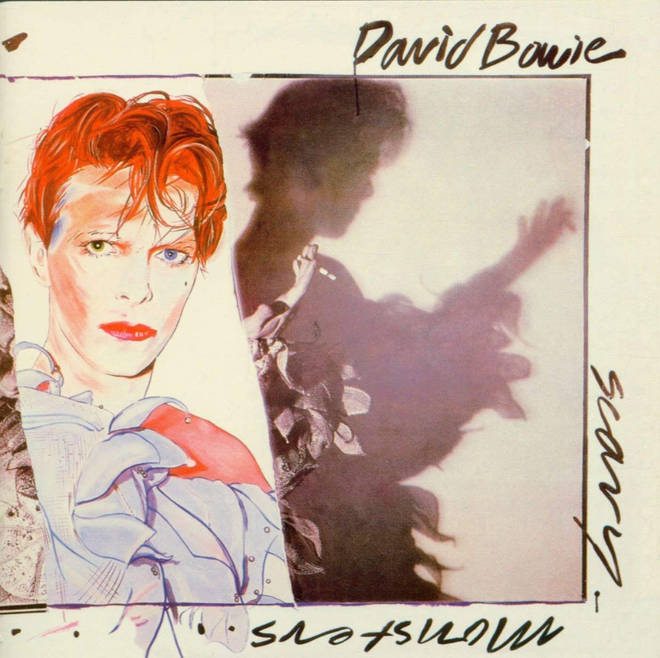 David Bowie - Scary Monsters (And Super Creeps) album cover