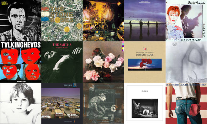Best album covers of the 1980s