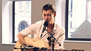 Arctic Monkeys' Alex Turner performs at Radio X HQ