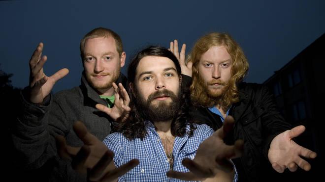 Biffy Clyro: Ben Johnston, Simon Neil and James Johnston in October 2007