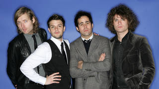 Mark Stoermer, Brandon Flowers, Ronnie Vannucci and David Keuning of The Killers  at the 2004 Billboard Music Awards