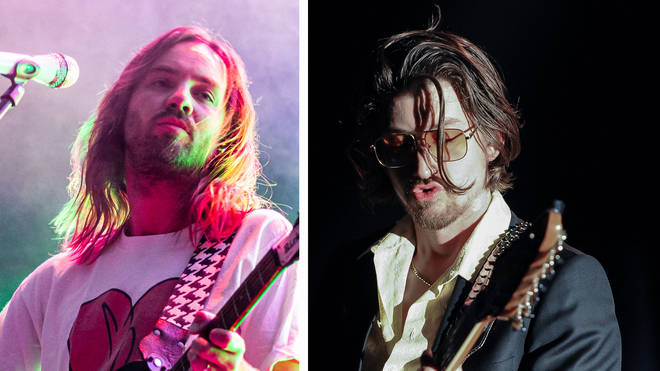 Tame Impala's Kevin Parker and Arctic Monkeys' Alex Turner