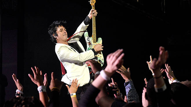 Green Day's Billie Joe Armstrong at the 2019 American Music Awards