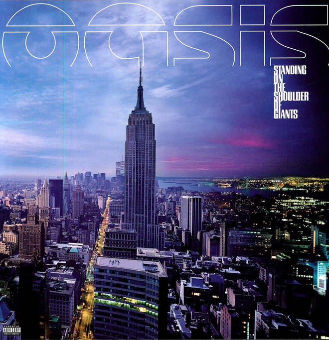Oasis - Standing On The Shoulder Of Giants album cover