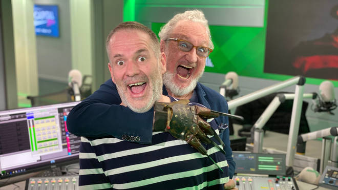 Chris Moyles meets Robert Englund