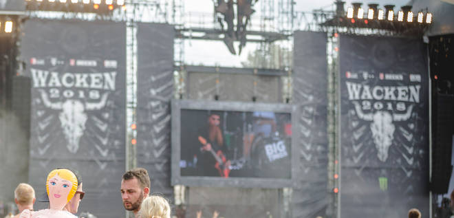 Wacken Open Air Festival 2018 festival stage