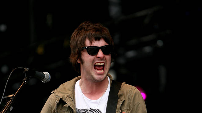 Courteeners' Liam Fray at T in The Park 2008