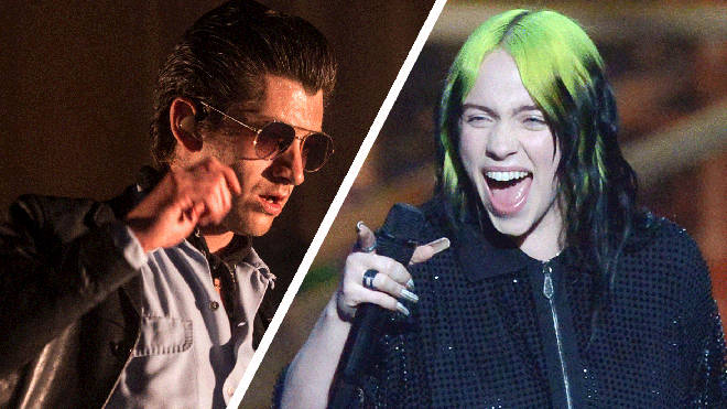 Arctic Monkeys' Alex Turner and Billie Eilish