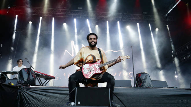 Joji Malani of Gang of Youths performs during Splendour in the Grass 2016