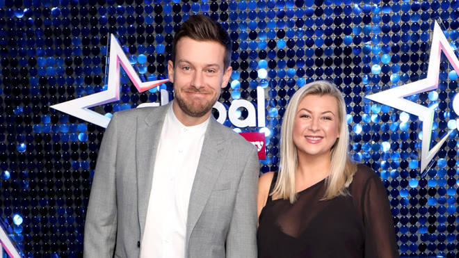 Chris Ramsey and Rosie Ramsey attend The Global Awards 2020 with Very.co.uk at London's Eventim Apollo Hammersmith