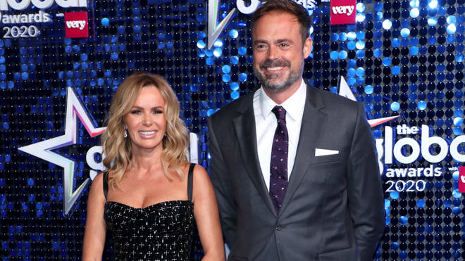 Amanda Holden and Jamie Theakston attend The Global Awards 2020 with Very.co.uk at London's Eventim Apollo Hammersmith