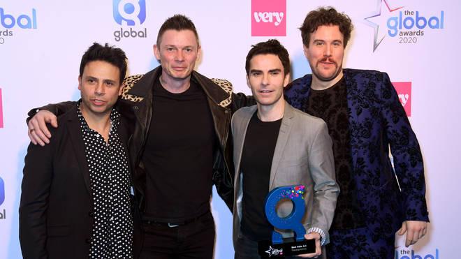 amie Morrison, Adam Zindani, Kelly Jones and Richard Jones of Stereophonics during The Global Awards 2020