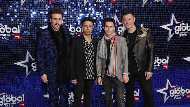 Stereophonics attend The Global Awards 2020