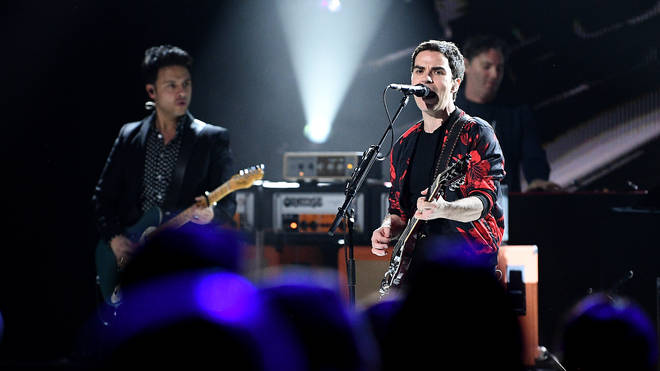 Stereophonics onstage at The Global Awards 2020