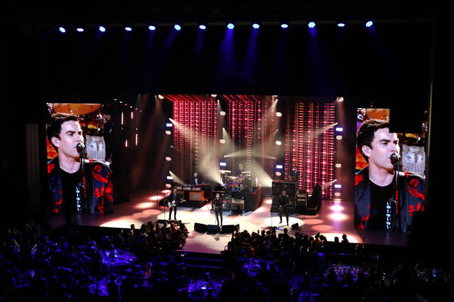 Stereophonics live onstage at The Global Awards 2020