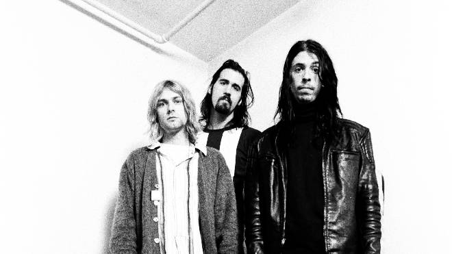 Nirvana In Japan in 1992