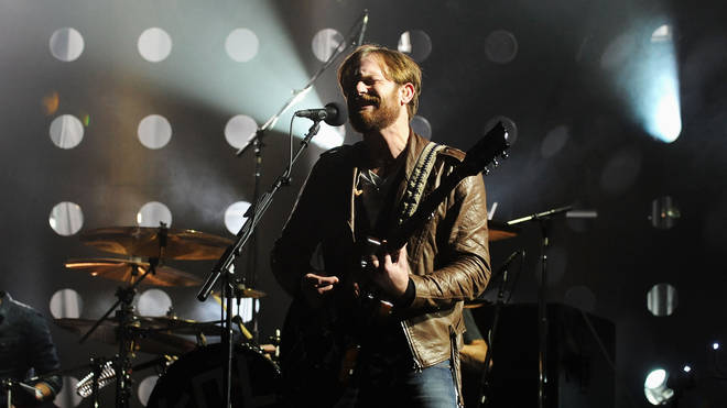 Caleb Followill of Kings of Leon performs onstage during the MTV Europe Music Awards 2010