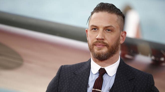 Tom Hardy at Dunkirk premiere in 2017