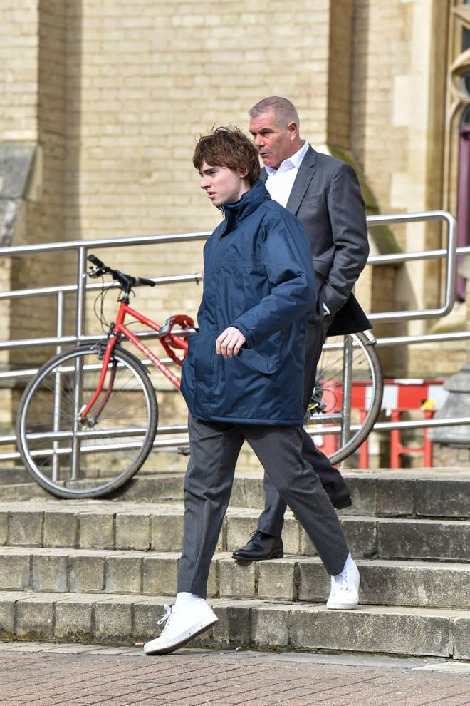 Gene Gallagher at Wood Green Crown Court
