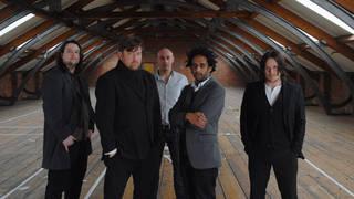 Elbow in 2008: Craig Potter, Guy Garvey, Richard Jupp, Pete Turner and Mark Potter