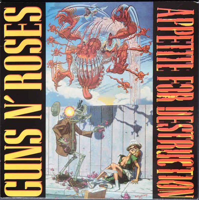 Guns N'Roses - Appetite For Destruction original edition