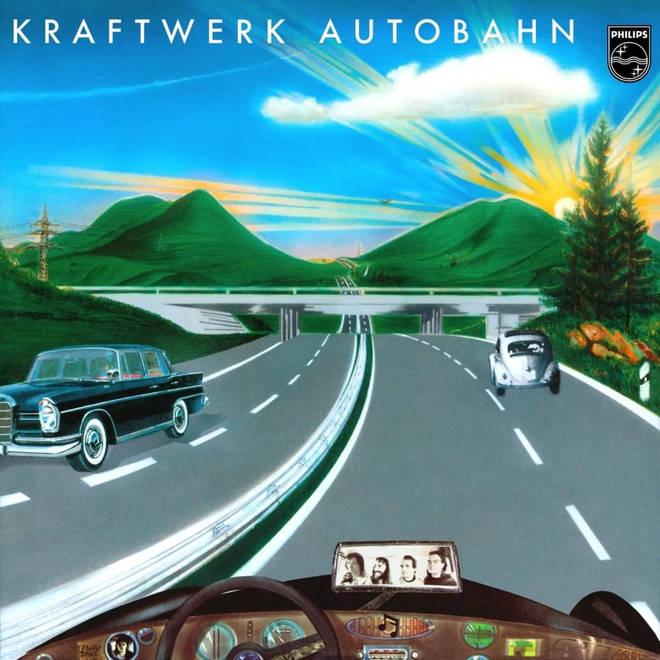 Kraftwerk - Autobahn: deutsches plattenalbum design