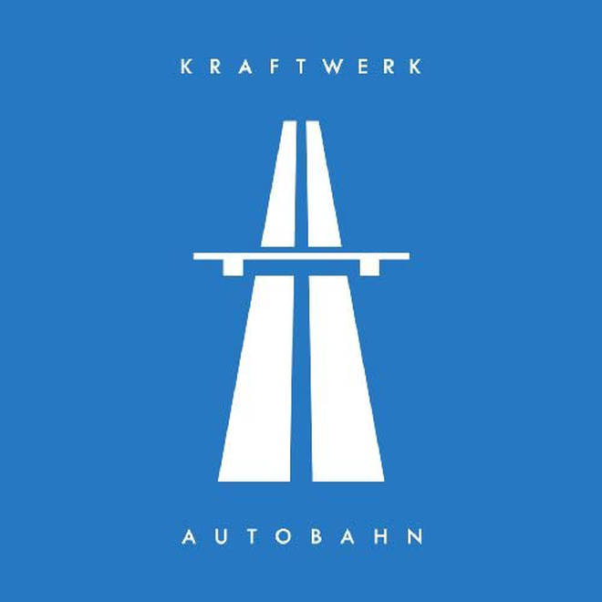 Kraftwerk - Autobahn: British album artwork