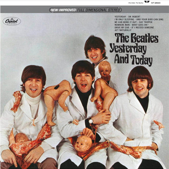 "The Beatles - Yesterday And Today ""bucther"" cover: what were they thinking?"