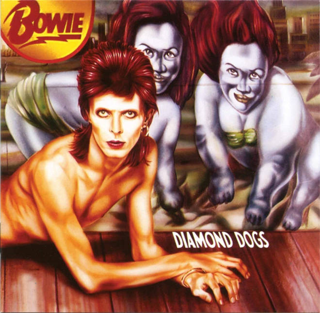 David Bowie - Diamond Dogs: the front cover