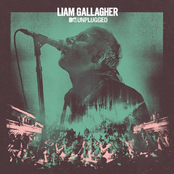 Liam Gallagher MTV Unplugged album artwork