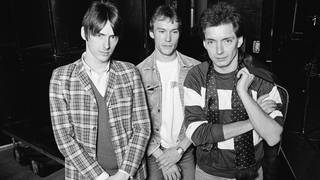The Jam in December 1981: Paul Weller, Rick Buckler and Bruce Foxton.