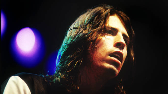 Dave Grohl of Foo Fighters onstage in 1995