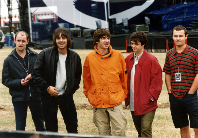 Oasis at Knebworth, August 1996